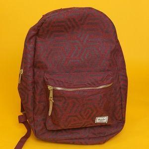 Hershel Unisex Backpack Red original casual sport
